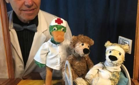 """Kindertheater: """"Komm, ich mach dich gesund, sagte der Bär"""""""