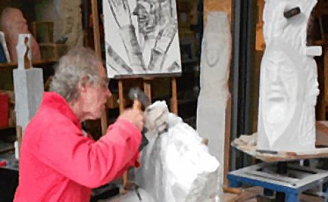 Ausstellungseröffnung: Skulpturen von Friedhelm Welge